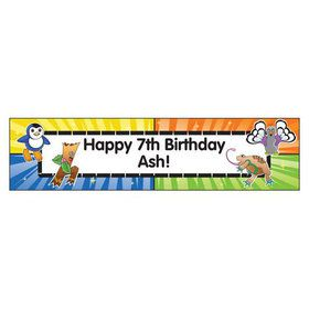 Pocket Monsters Personalized Banner (each)