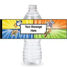 Pocket Monsters Personalized Bottle Labels (Sheet of 4)