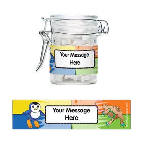 Pocket Monsters Personalized Glass Apothecary Jars (10 Count)