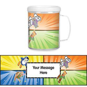 Pocket Monsters Plastic Personalized Favor Mugs (Each)
