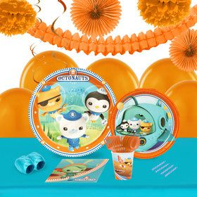 Octonauts 16 Guest Tableware Decoration Kit