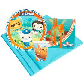 Octonauts 8 Guest Party Pack