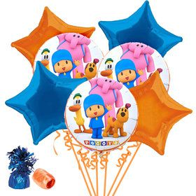 Pocoyo Balloon Bouquet Kit