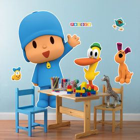 Pocoyo Giant Wall Decals