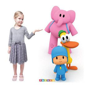 Pocoyo Standup - 6' Tall