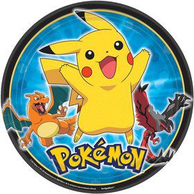 "Pokemon 9"" Luncheon Plates (8 Pack)"