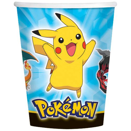 Pokemon 9Oz Cups (8 Pack) BB581844