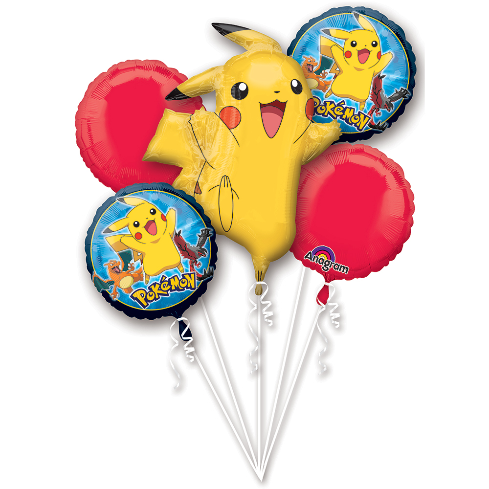 Pokemon Balloon Bouquet (Each) - Party Supplies BB65441
