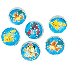 Pokemon Bounce Ball Favors (6 Count)