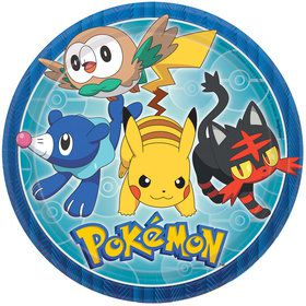 "Pokemon Core 9"" Lunch Plates (8)"