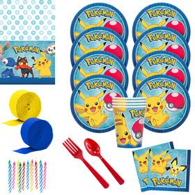 Pokemon Core Deluxe Tableware Kit (Serves 8)