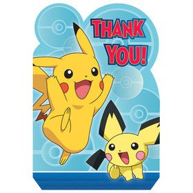 Pokemon Core Thank You Cards (8)
