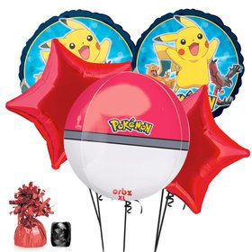 Pokemon Deluxe Balloon Bouquet Kit