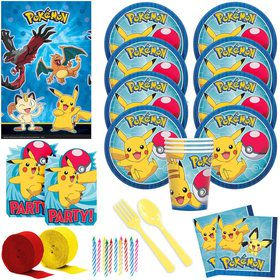 Pokemon Core Deluxe Tableware Kit (Serves 16)