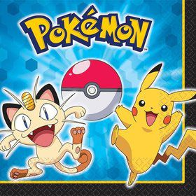 Pokemon Luncheon Napkins (16 Pack)