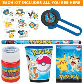 Pokemon Party Favor Kit
