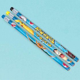 Pokemon Pencil Favors (12 Pack)