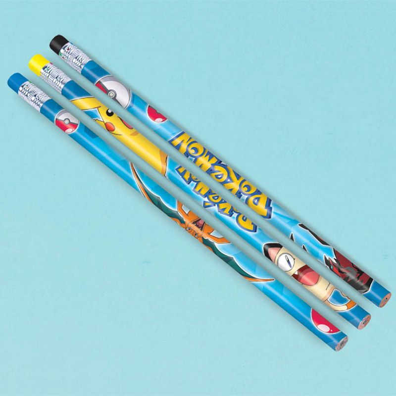 Pokemon Pencil Favors (12 Pack) - Party Supplies BB394437