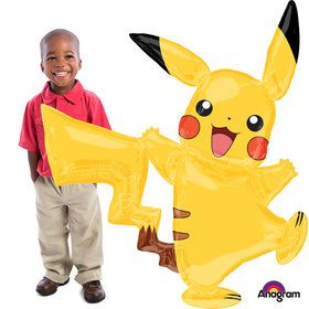"Pokemon Pikachu 57"" Airwalker Balloon (Each)"