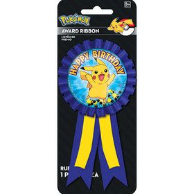 Pokemon Pikachu Award Ribbon (Each)