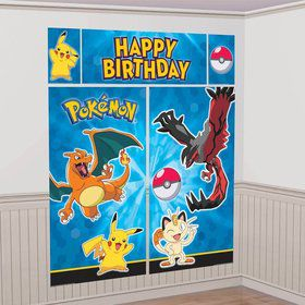 Pokemon Scene Setter Wall Decorating Kit (Each)