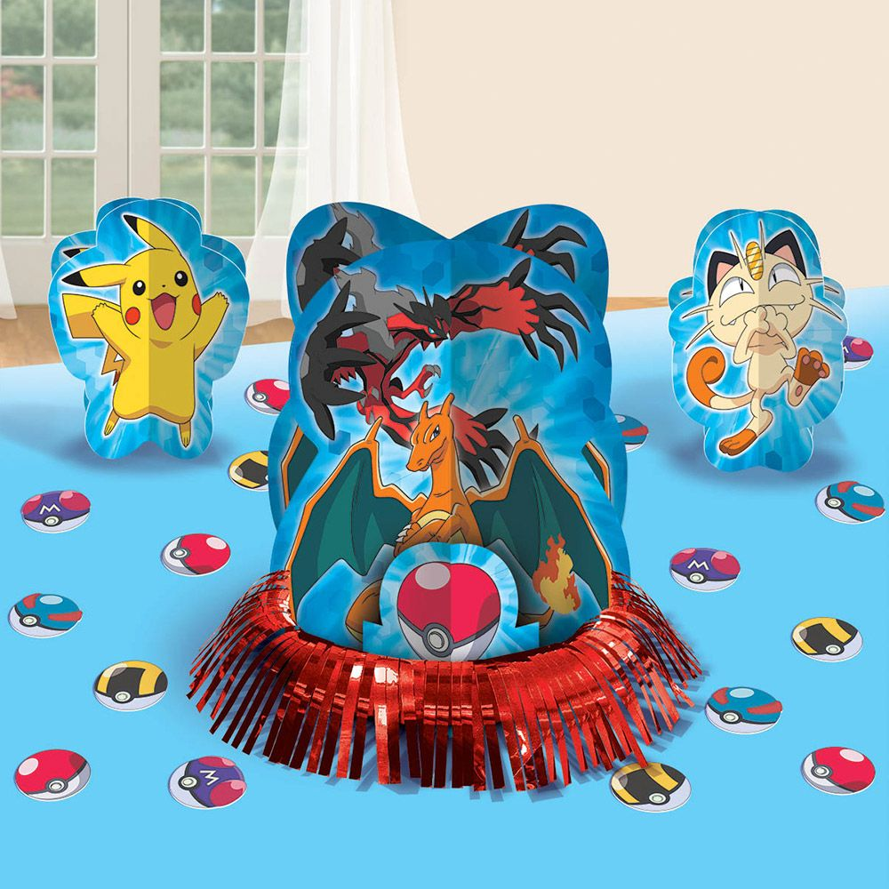 Pokemon Table Decorating Kit (Each) - Party Supplies BB281844