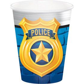 Police Party Hot/Cold 9oz Cup (8)