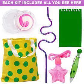 Polka Dot Party Deluxe Favor Kit (for 1 Guest)
