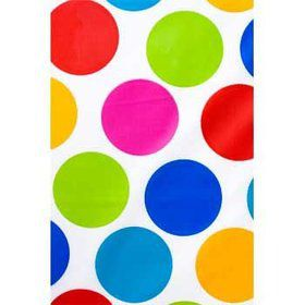 Polka Dot Party Table Cover (each)