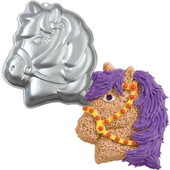 Pony Cake Pan (each) - Party Supplies