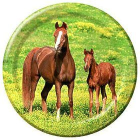Pony Party Dinner Plates (8-pack)