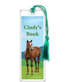 Pony Party Personalized Bookmark (each)