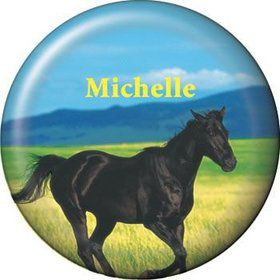 Pony Party Personalized Button (each)