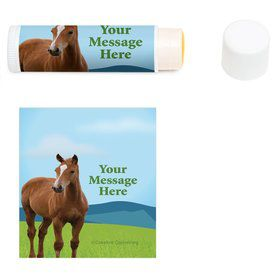 Pony Party Personalized Lip Balm (12 Pack)