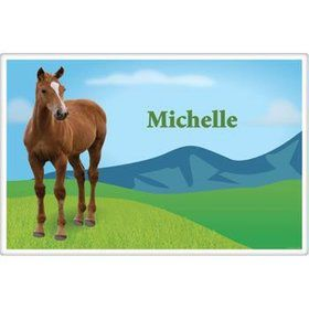 Pony Party Personalized Placemat (each)