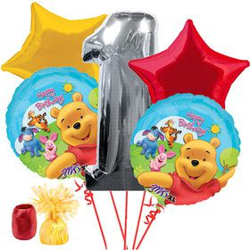 Pooh 1st Birthday Balloon Kit