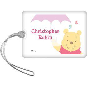 Pooh Personalized Bag Tag (Each)