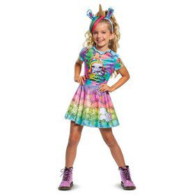 Poopsie Unicorn Rainbow Brightstar Deluxe Child Costume