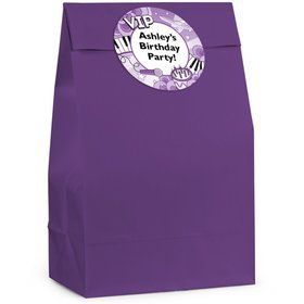 Pop Star Personalized Favor Bag (Set Of 12)