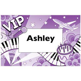 Pop Star Personalized Placemat (each)