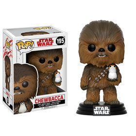 Funko POP Star Wars: The Last Jedi - Chewbacca & Porg