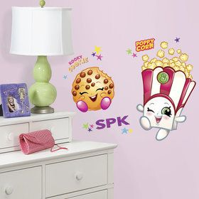 Poppy Corn Kooky Cookie Shopkins Giant Wall Decals