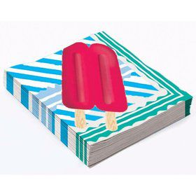 Popsicle Party Beverage Napkin (16)
