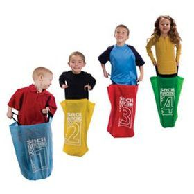 Potato Sack Race Game (4 Count)