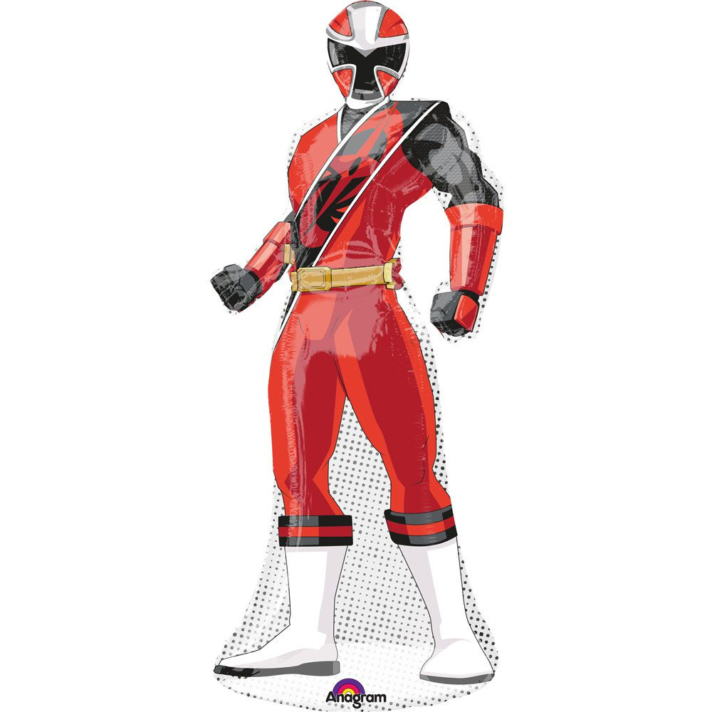 power ranger ninja steel shaped balloon power rangers. Black Bedroom Furniture Sets. Home Design Ideas