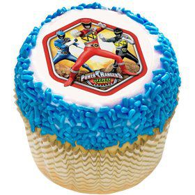 "Power Rangers 2"" Edible Cupcake Topper (12 Images)"