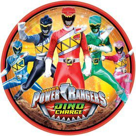 "Power Rangers Dino Charge 9"" Luncheon Plates (8 Pack)"