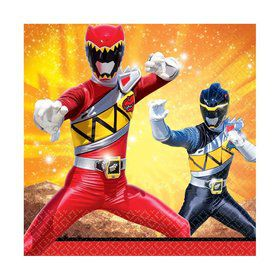 Power Rangers Dino Charge Luncheon Napkins (16 Pack)