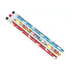 Power Rangers Pencil Favors (12 Pack)