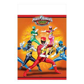 Power Rangers Dino Charge Plastic Table Cover (Each)
